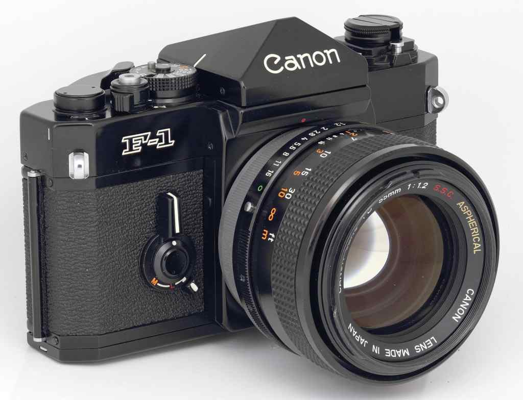 canon f1 old