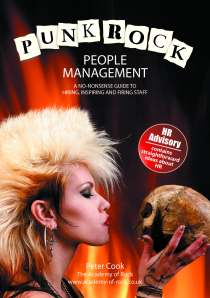 Punk Rock People Management FRONT COVER