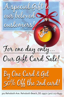 Surprise 1 Day Holiday Gift Card Sale - A Cultured Pearl Holiday Gift