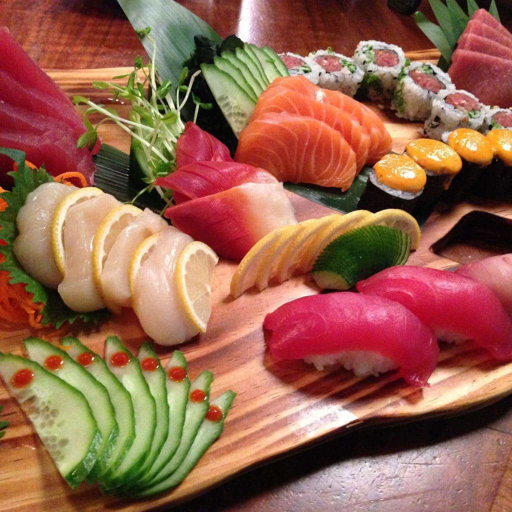Sushi Sahimi Plate