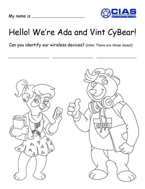 small resolution of Ages 8-9 Activities   Culture of Cybersecurity