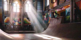 red bull okudart espagne skateboard