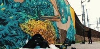 rosa parks fait le mur street art kashink