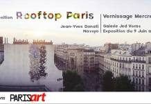 ROOFTOP GRAFFITI PARIS jed voras nassyo