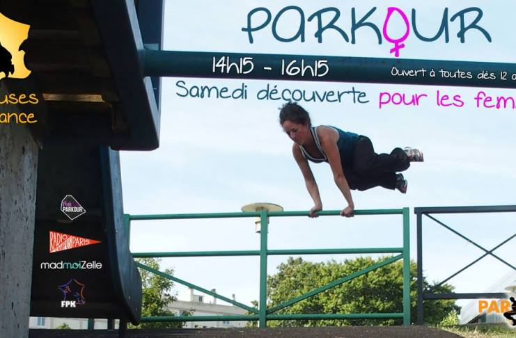 parkour Traceuses de France initiation