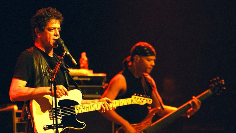 Lou Reed in Australia courtesy of Getty Images