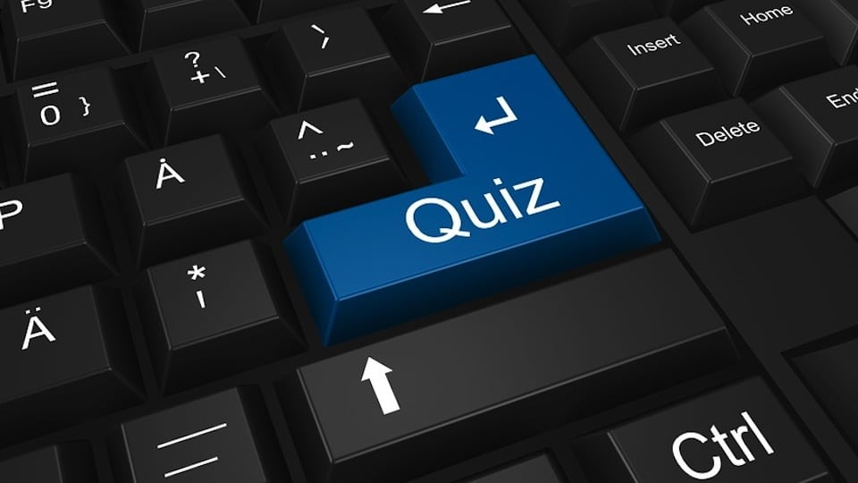 Quiz Keyboard (Public Domain)