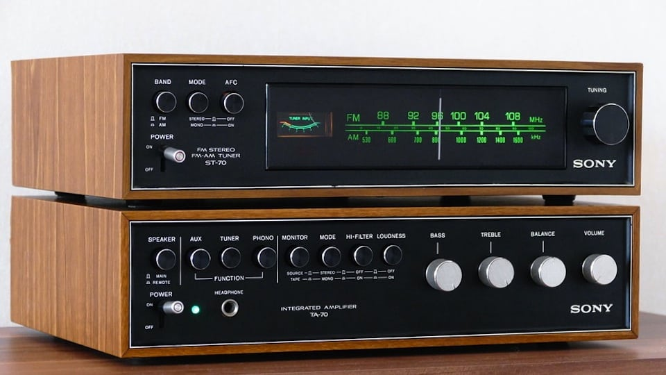 Stereo Set 1970s courtesy of Pixabay