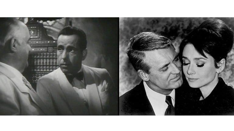 Casablanca and Charade Public Domain