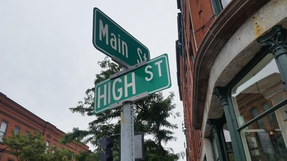 Main St. and High St.