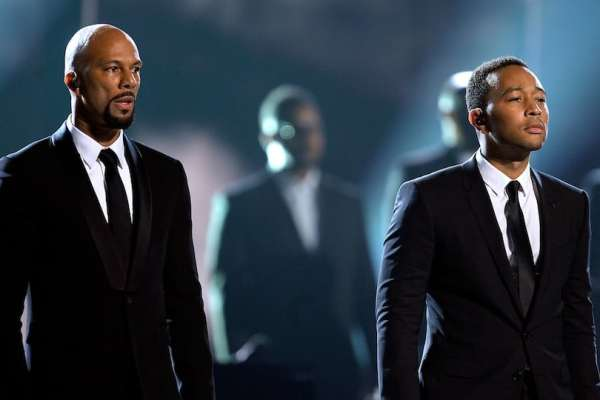 Common and John Legend courtesy of Getty Images