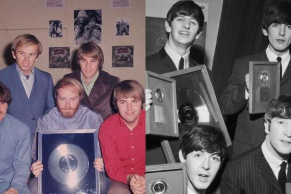 beach boys and beatles