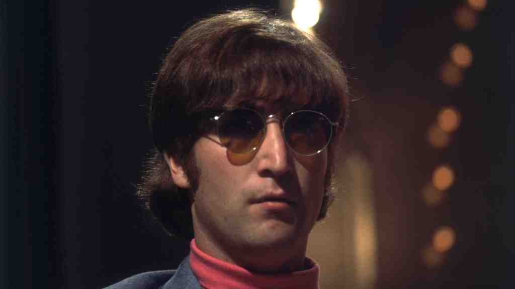1966: John Lennon (1940 - 1980) of the Beatles.