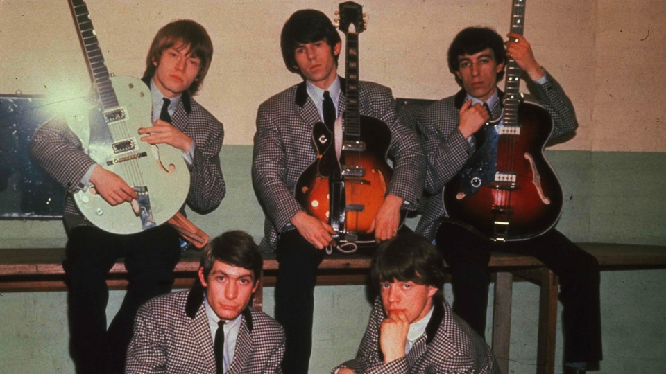 The Rolling Stones with Guitars