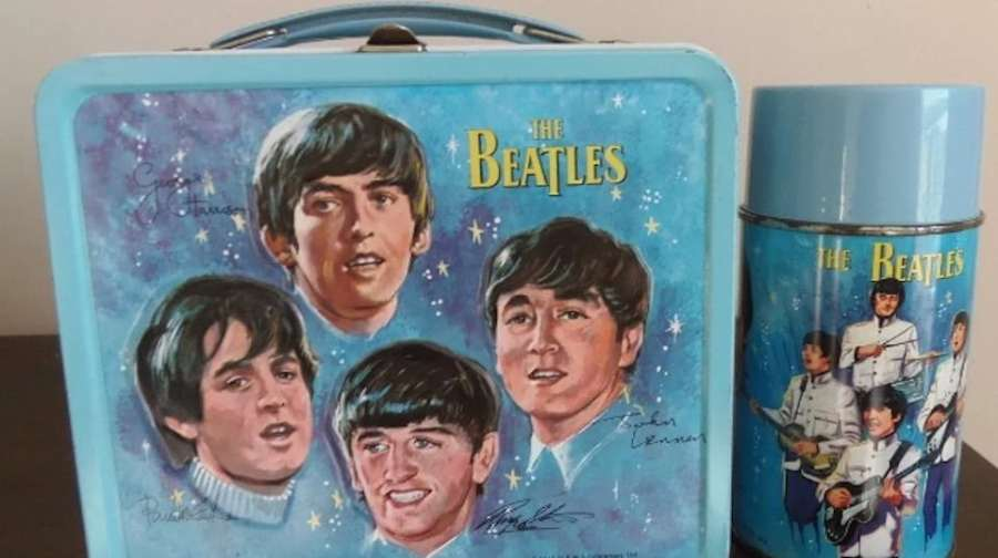 Beatle Lunch Box