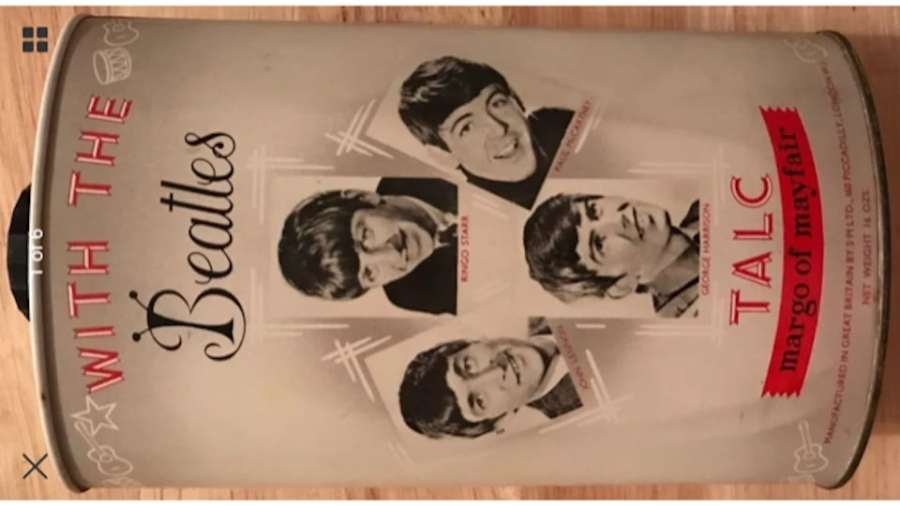 Beatles Talcum Powder