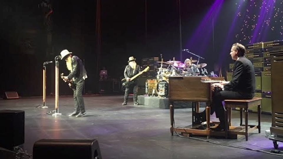 zz top vegas