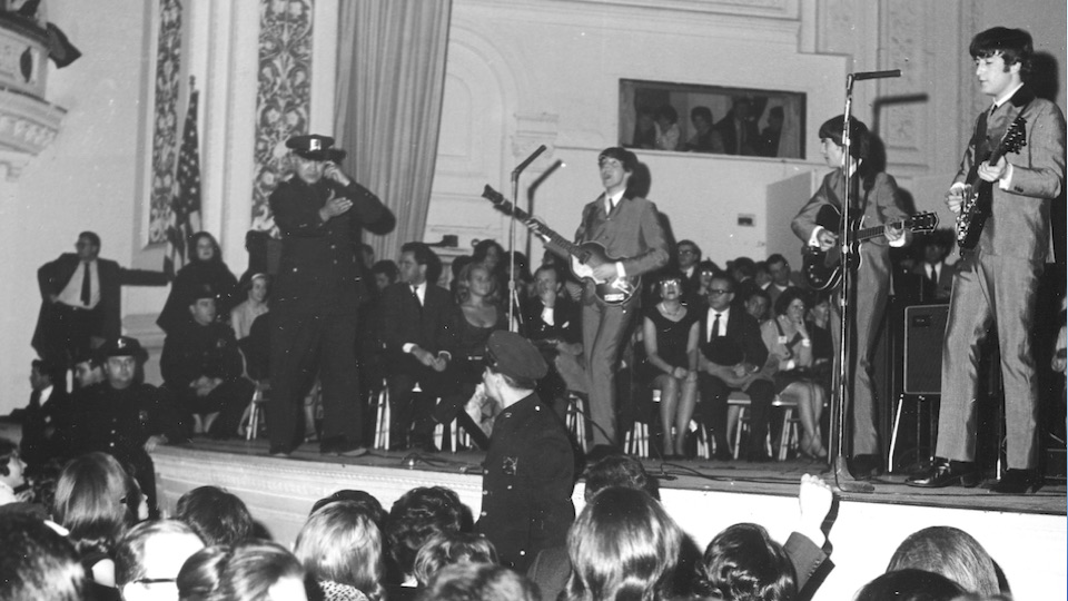 beatles carnegie hall