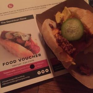 Dominican Dane Copenhagen Street Food hot dog