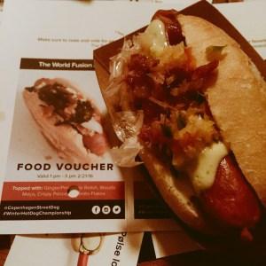 World Fusion Copenhagen Street Food Hot Dog