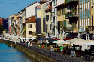 Navigli Canals in Italy