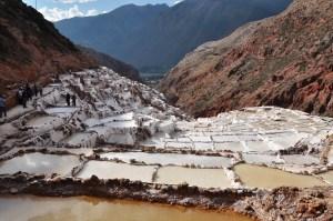Peru Maras Salt Flats