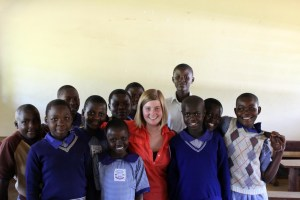 Jess in Uganda