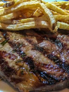 steak & frites at Rubicon Harrisburg