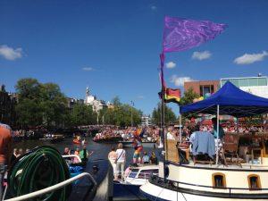 Gay Pride Parade in Amsterdam - Photo by Jessica Lipowski