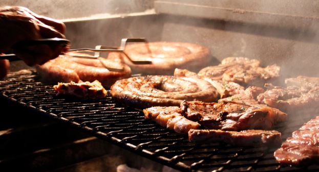 Braai - Afrikaans for barbecue or grill