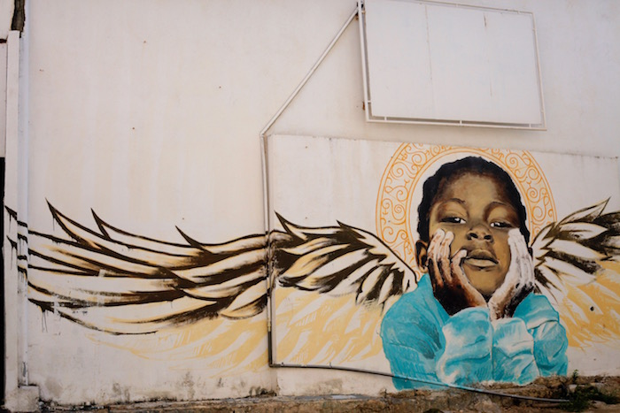 Street art in Willemstad, Curaçao