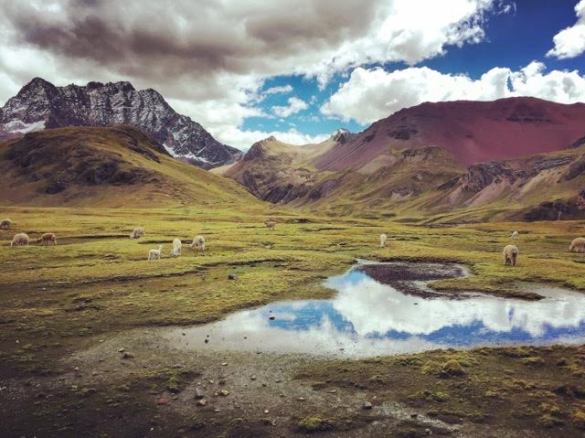 getting local in Peru's Rainbow mountains