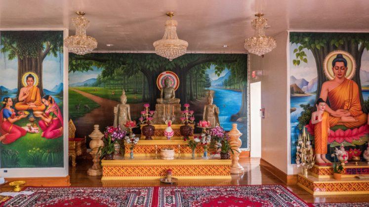 khmer temple statue philadelphia