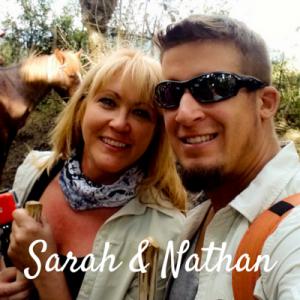 Sarah & Nathan live, dream, discover