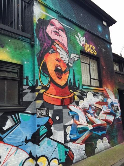 Street art on London walking tours
