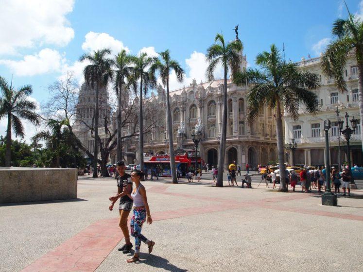 walking around Cuba