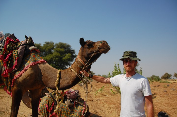 Greg in Rajasthan, India