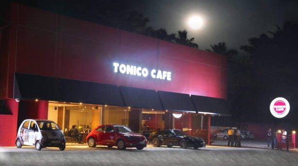Tonico Cafe. A private cafe in Thrissur.