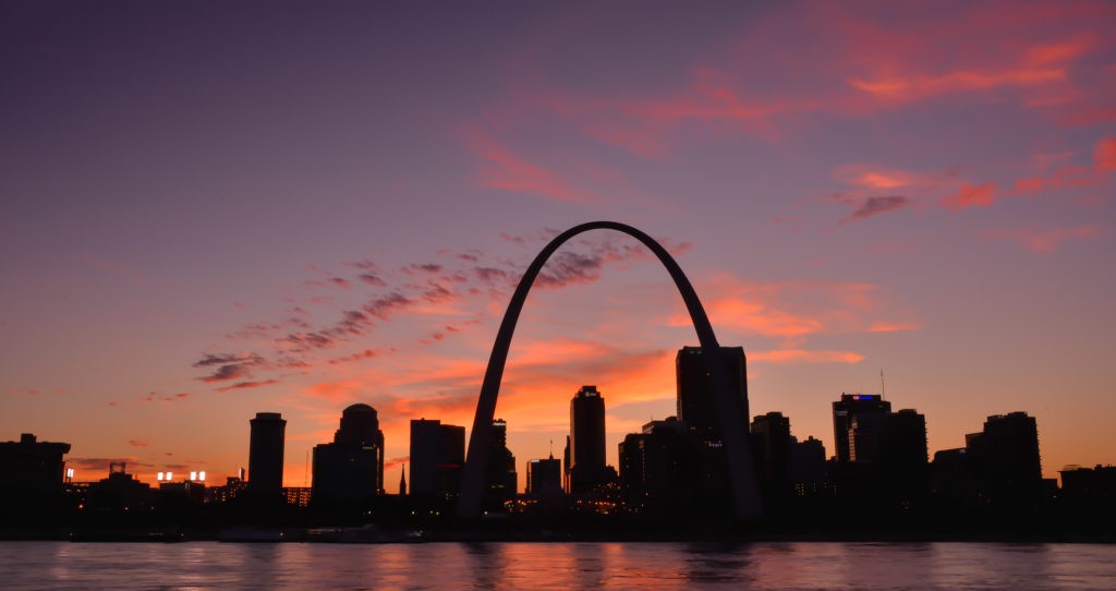 St.Louis Sunset (Photo credits: americanroadtripphotography.com)