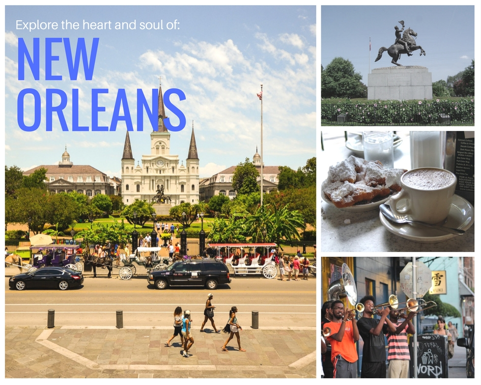 Explore the heart and soul of New Orleans