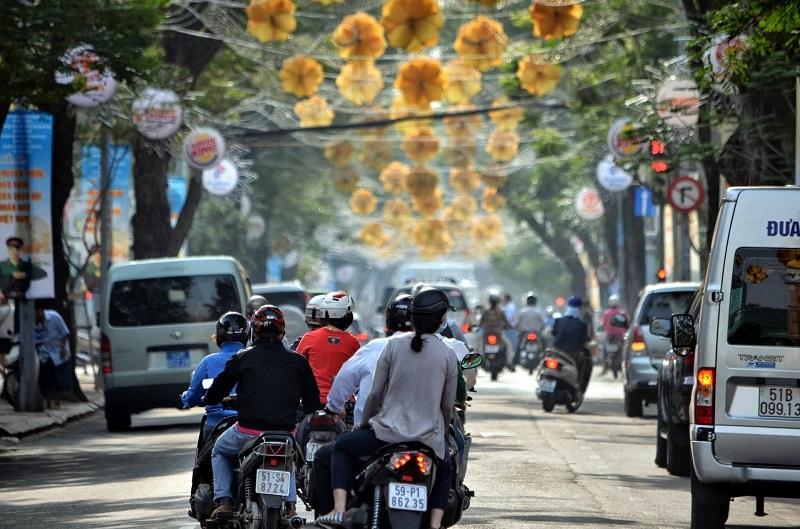 vietnam traffic