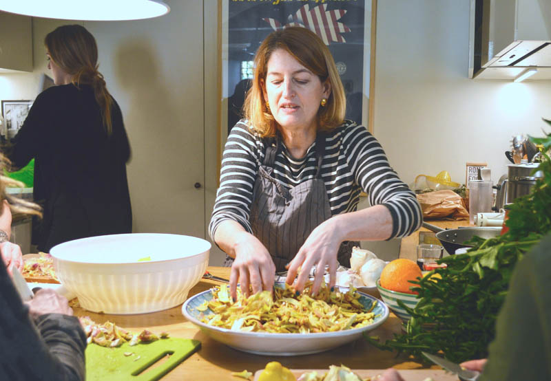 themed travel: cooking class in Rome