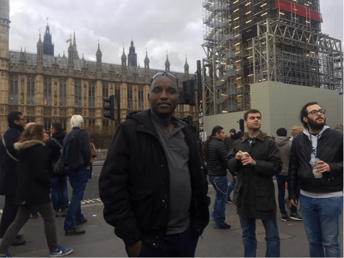 Janvier in London