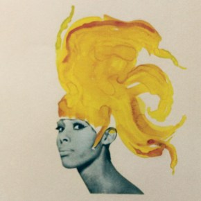 Lorna Simpson: Heady Portraits on Paper