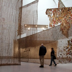Critics' Best: El Anatsui Exhibition Among Those Recognized for Excellence