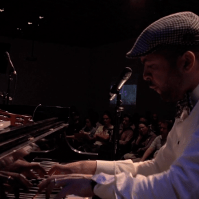 Jazz Musician Jason Moran Freestyles with Visual Artists