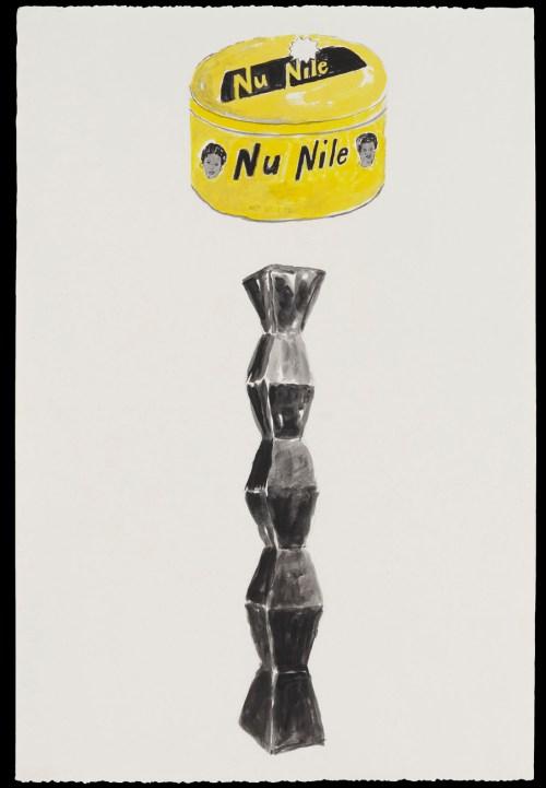 Ligon_Endless Column-Nu Nile Yellow