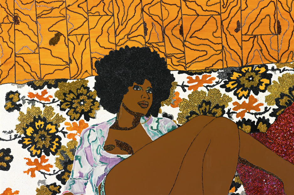 mickalene thomas - can't we just sit down