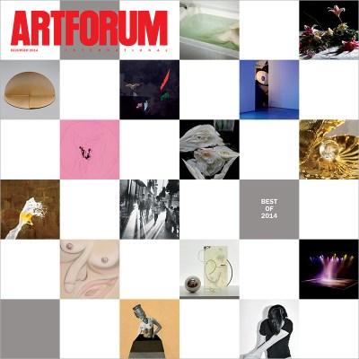 artforum - best of 2014 cover