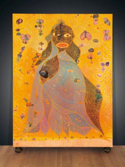chris-ofili-holy virgin mary